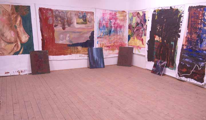 Borgerstraat painting exhibit